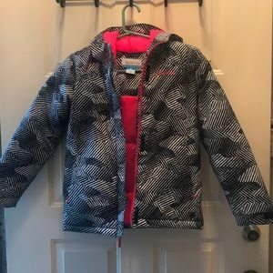 Girl Columbia jacket medium